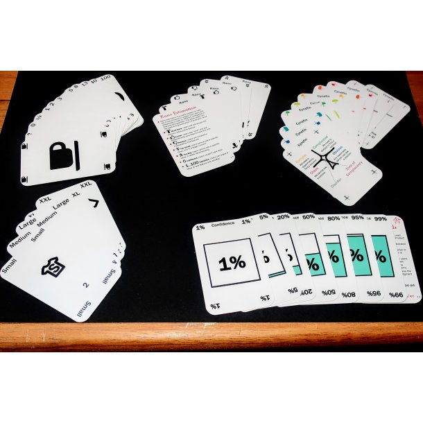 10 sæt Agile Cards, bulk