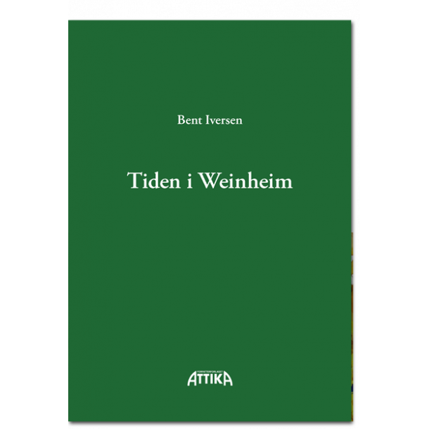 Bent Iversen: Tiden i Weinheim